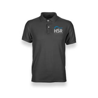 Mens Polo Shirt HSR Oto Dark Grey