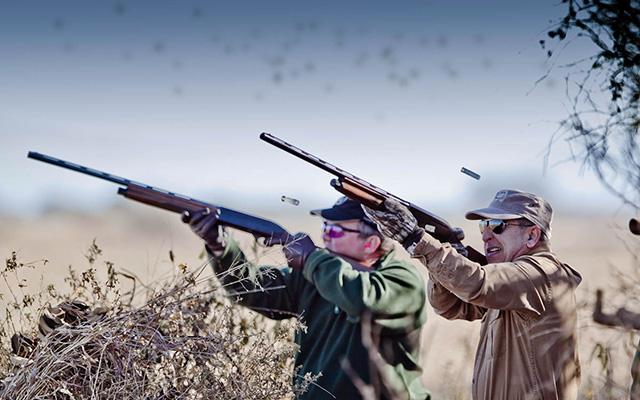 Protezione udito cacciatori